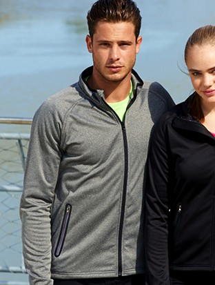 MENS LIGHT WEIGHT FLEECE ZIP JACKET